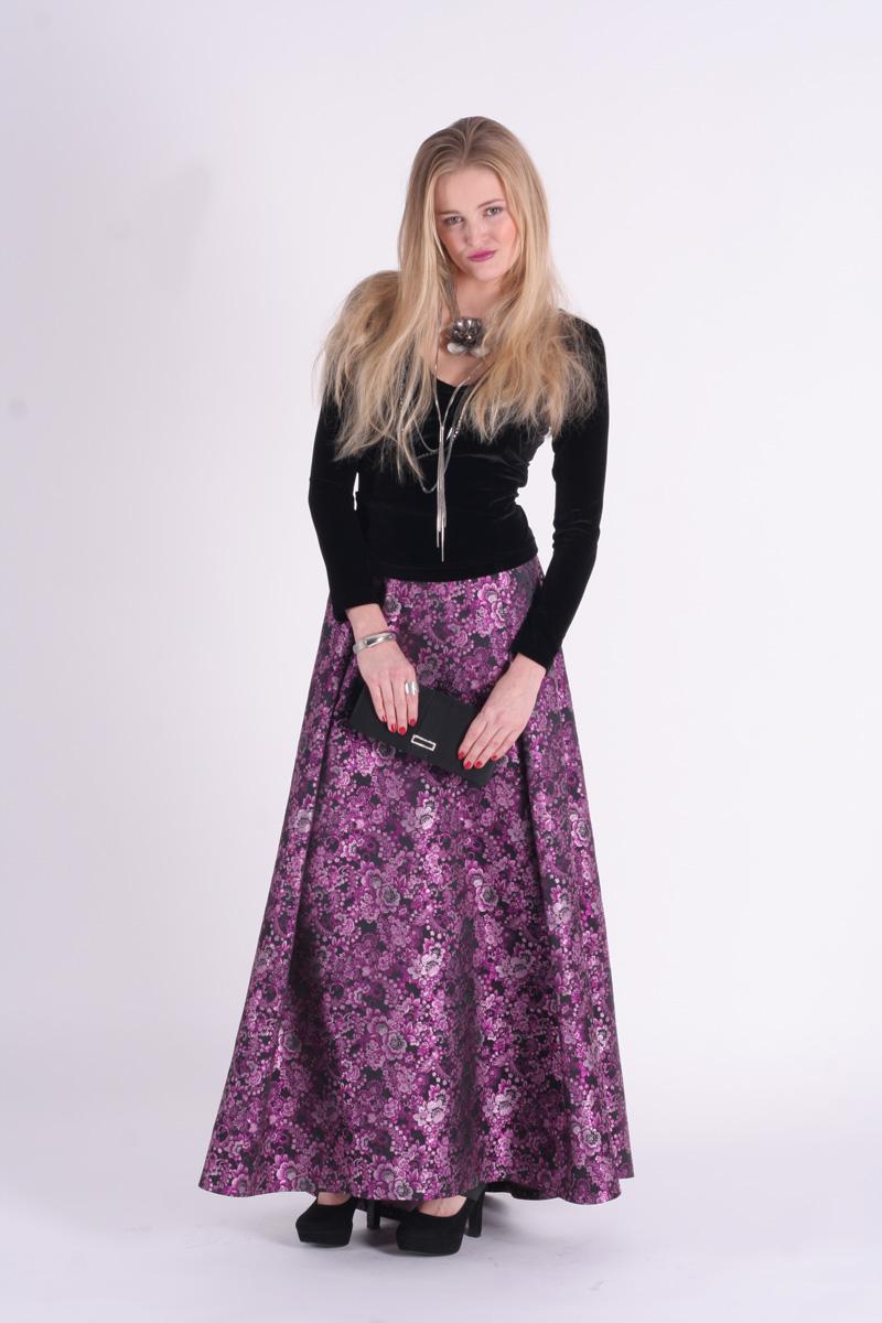 Společenské dlouhé šaty