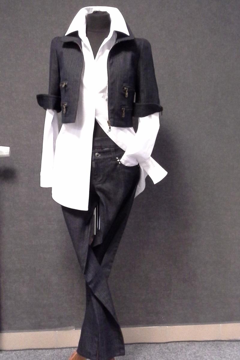 Kalhotový kostýmek
