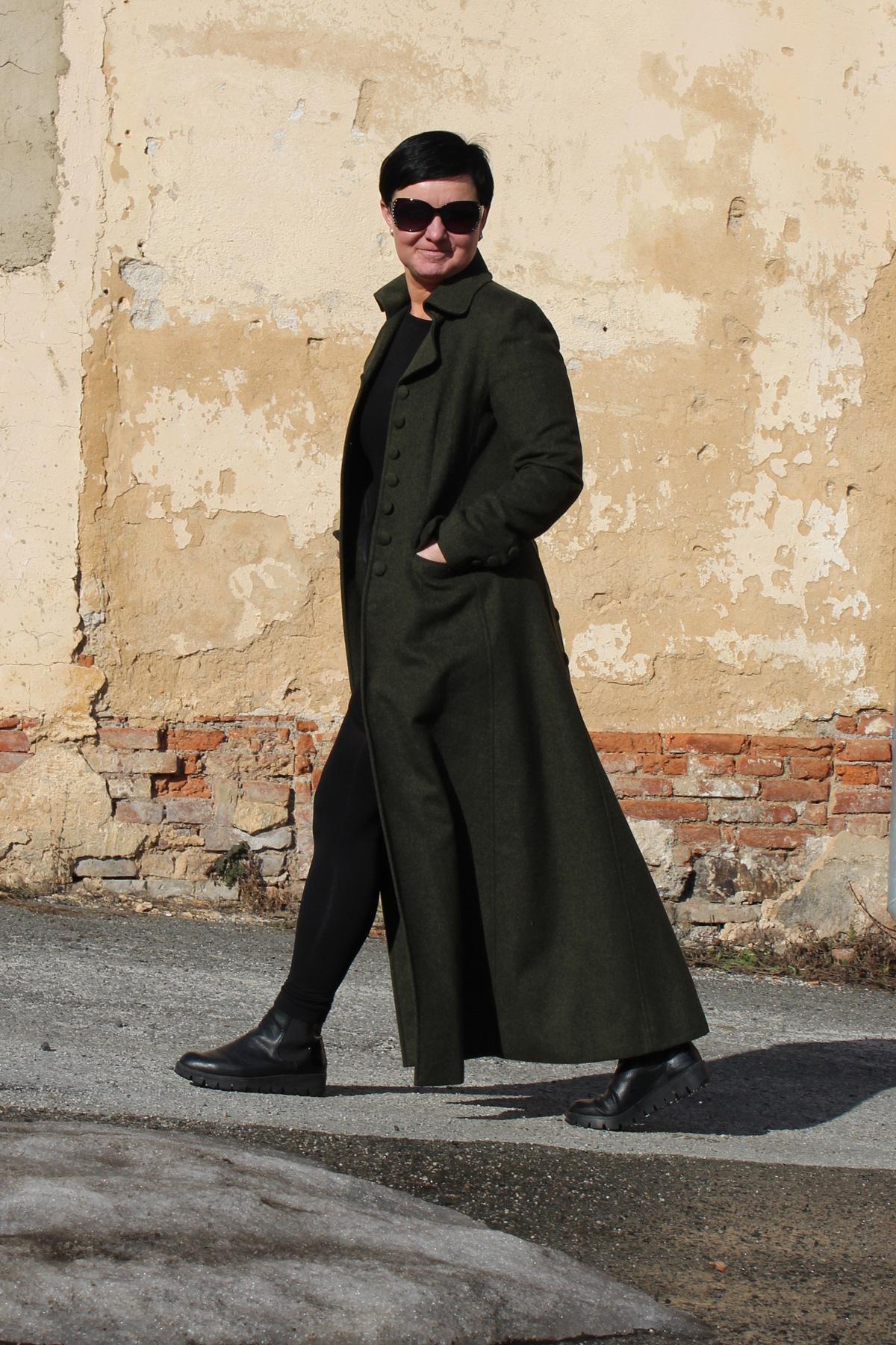 Kabát a sako pro paní Chodorovou - miliKraus 1cb5f5bd45